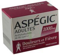 Aspegic Adultes 1000 Mg, Poudre Pour Solution Buvable En Sachet-dose 15 à BOURG-SAINT-MAURICE