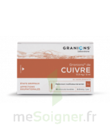 Granions De Cuivre 0,3 Mg/2 Ml S Buv 30amp/2ml à BOURG-SAINT-MAURICE