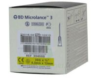 Bd Microlance 3, G30 1/2, 0,30 Mm X 13 Mm, Jaune  à BOURG-SAINT-MAURICE