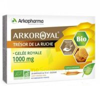 Arkoroyal Gelée Royale Bio 1000 Mg Solution Buvable 20 Ampoules/10ml à BOURG-SAINT-MAURICE