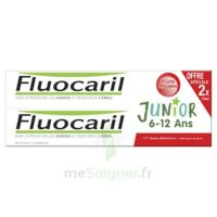 Fluocaril Junior Gel Dentifrice Fruits Rouges 6/12ans 2*75ml à BOURG-SAINT-MAURICE