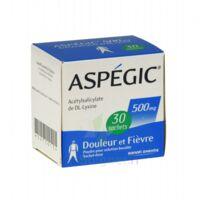 Aspegic 500 Mg, Poudre Pour Solution Buvable En Sachet-dose 30 à BOURG-SAINT-MAURICE