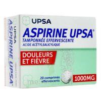 Aspirine Upsa Tamponnee Effervescente 1000 Mg, Comprimé Effervescent à BOURG-SAINT-MAURICE