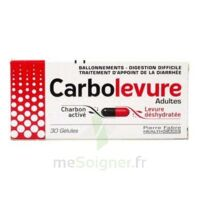 Carbolevure Gélules Adulte Plq/30 à BOURG-SAINT-MAURICE