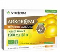 Arkoroyal Gelée Royale Bio 1500 Mg Solution Buvable 20 Ampoules/10ml à BOURG-SAINT-MAURICE