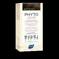 Phytocolor Kit Coloration Permanente 6.77 Marron Clair Cappuccino à BOURG-SAINT-MAURICE
