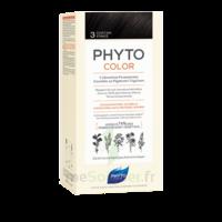 Phytocolor Kit Coloration Permanente 3 Châtain Foncé à BOURG-SAINT-MAURICE