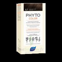 Phytocolor Kit Coloration Permanente 5.7 Châtain Clair Marron à BOURG-SAINT-MAURICE