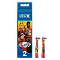 Oral B Incredibles 2 Brossette Kids Blister/2 à BOURG-SAINT-MAURICE