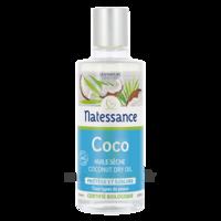 Natessance Huile Coco Bio 100% Pure 100ml à BOURG-SAINT-MAURICE