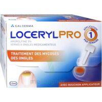 Locerylpro 5 % V Ongles Médicamenteux Fl/2,5ml+spatule+30 Limes+lingettes à BOURG-SAINT-MAURICE