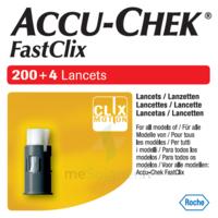 Accu-chek Fastclix Lancettes B/204 à BOURG-SAINT-MAURICE