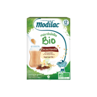 Modilac Céréales Farine Cacao Vanille Dès 12 Mois B/250g à BOURG-SAINT-MAURICE